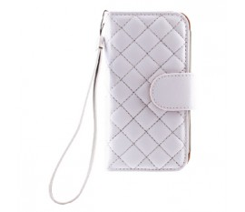 Case Folio for iPhone 5C Quilted White