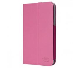 Tablet case pu leather for Galaxy Tab 7.0 fuchsia