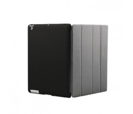 Cover for New iPad Cover-Mate Black/Grey