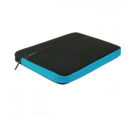 """Housse pour ordinateur portable 17"""" / 18"""" coloris bleu glacier"""