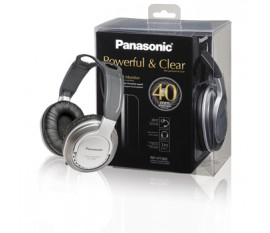 Full-size headphone silver
