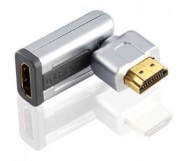 Adaptateur Rotatif HDMI® haut vitesse avec Ethernet