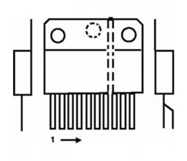 V-DEFL amplifier 3.2 A + e-w