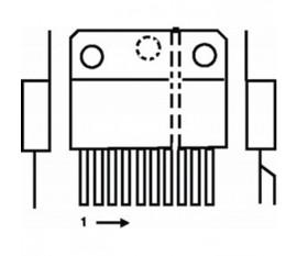 Video amp 3x8 MHz 200 V