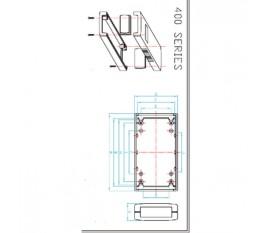 Project enclosure 120 x 60 x 30 mm
