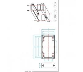 Project enclosure 90 x 50 x 32 mm