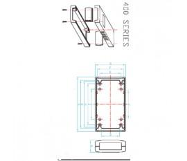 Project enclosure 90 x 50 x 24 mm