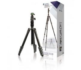 Ammattitason kolmijalka kameroille ja videokameroille, 114 cm