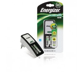 Mini charger, Euro plug, + 2x HR3 850 mAh