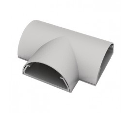Cable cover T joint 50 mm aluminium