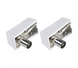 Connecteurs mâles coaxiaux IEC