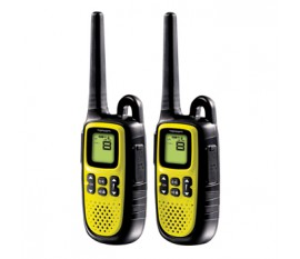 Walkie talkie twintalker yellow
