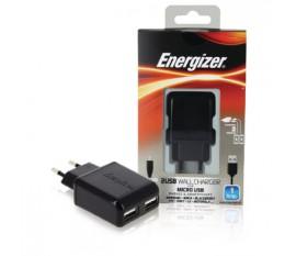 Chargeur mural 2 USB (fiche européenne)