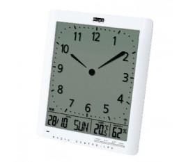 Horloge murale radiopilotée LCD