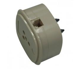 Telephone plug 3 PIN/6P-4C