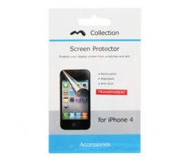 Screen Protector for iPhone 4/4S Transparent