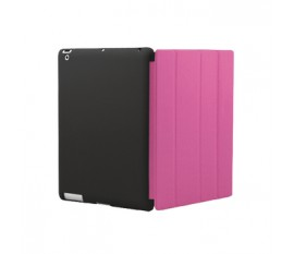 Cover for New iPad Cover-Mate Black/Pink