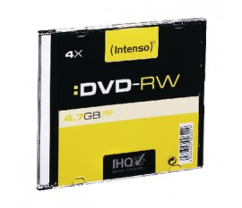 DVD-RW 4.7 GB Slim case 10 pcs