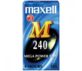 VHS tape 240 minutes 24-pack