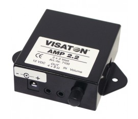 Amplificateur stéréo avec commandes du volume