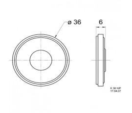 Mini haut-parleur 50 Ω 2 W