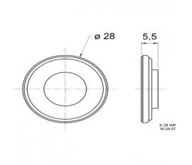 Mini haut-parleur 8 Ω 2 W