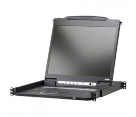 "LCD console KVM 19"" DVI-D USB 2.0, CH"