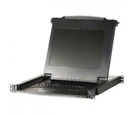 Switch KVM LCD 16-ports VGA USBPS2