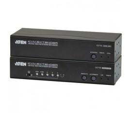 Extendeur KVM Dual View, USB, audio, RS232 300 m