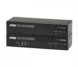 Extendeur KVM Dual View, USB, audio, RS232 150 m
