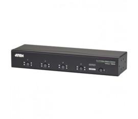 Commutateur vidéo/audio VGA, 4 x 4