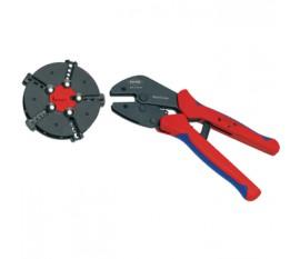 Pince à sertir avec chargeur remplaçable Connecteur, cosse de câble, embout et raccord -