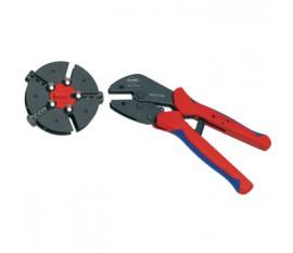 Pince à sertir avec chargeur remplaçable Connecteur, cosse de câble et embout -