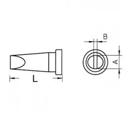 Panne à souder tournevis 4.6mm LTD