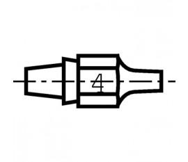 Buse à enficher DX114 pour fer à dessouder DSX80, DXV80.