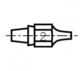 Buse à enficher DX112 pour fer à dessouder DSX80, DXV80.