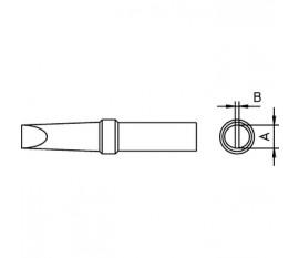 Panne à souder Forme de burin 1.6 mm