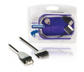 Sync and Charge Cable Samsung 30-Pin Male - USB A Male