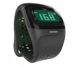 Montre de sport cardiofréquencemètre ALPHA2 noir