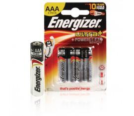 Piles alcalines AAA/LR03 1.5 V Ultra+ 8pcs/blister