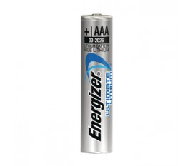 Ultimate lithium battery AAA/FR03 1.5 V 3 + 1 free blister