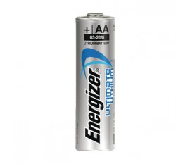 Ultimate lithium battery AA/FR6 1.5 V 3 + 1 free blister