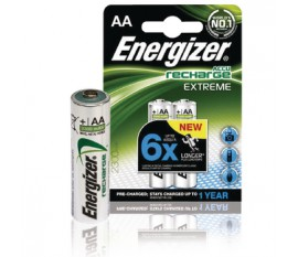 2x AA rechargeable battery