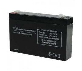 Batterie au plomb acide 6 V 7.2 Ah