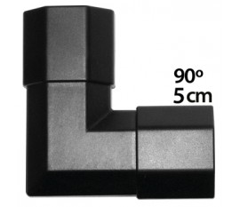 Black coloured corner for de TVS-KN-CC110B