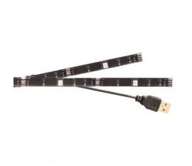 2barres lumineuses LED USB 50cm pour TV RGB avec télécommande