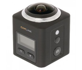 Full HD Action Camera 2K Wi-Fi / Microphone Noir