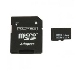 microSDHC Carte mémoire Classe UHS-I 16 GB