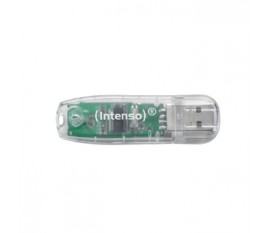 Lecteur Flash USB 2.0 32 GB Transparent
