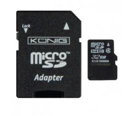 Carte MicroSDHC 32 GB Class 4